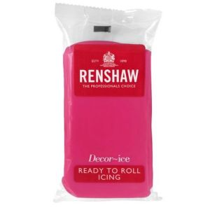 Renshaw Decor-Ice Fuchsia 250g